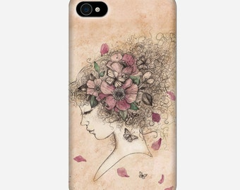 Smartphone case - iPhone or Samsung Galaxy case - Lola