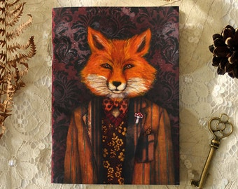 Carnet - Portrait of The Mysterious Lord Fox