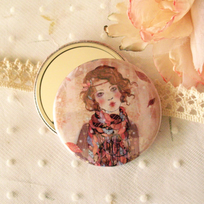 Pocket mirror  Souvenir d'hiver image 0