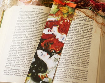 Bookmark - Snow White and Rose Red