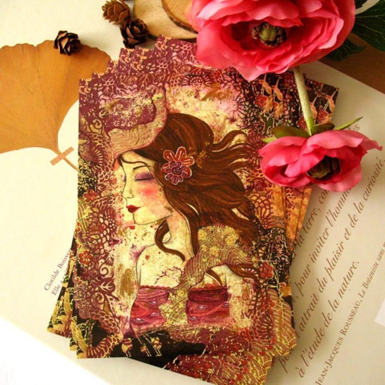 Lilac Postcard image 0