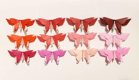 Origami Maniacs: Origami Swallowtail Butterfly by Evi Binzinger   330x570