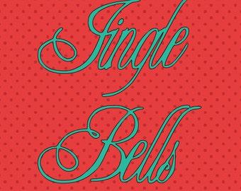 SVG jingle bells centered
