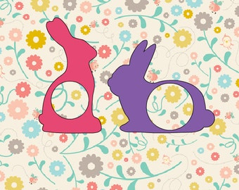 Easter bunny chocolate cut iron on vinyl file
