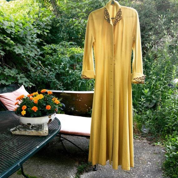 Bergdorf Goodman Vintage Coat Robe, Coat Dress,  W