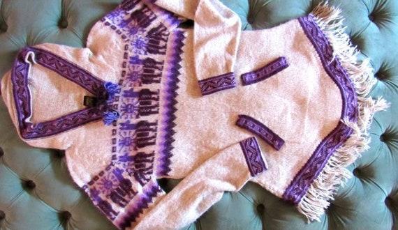 Vintage Alpaca Hoodie, festival hoodie, burning ma