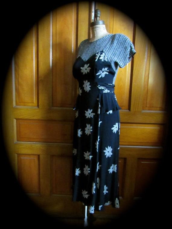Vintage 80s dress, Carole Little dress, disco dres