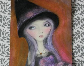 Mabsdrawlloweenclub Halloween Cute Witch Art