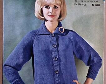 bef2f0765361 60s knitting pattern