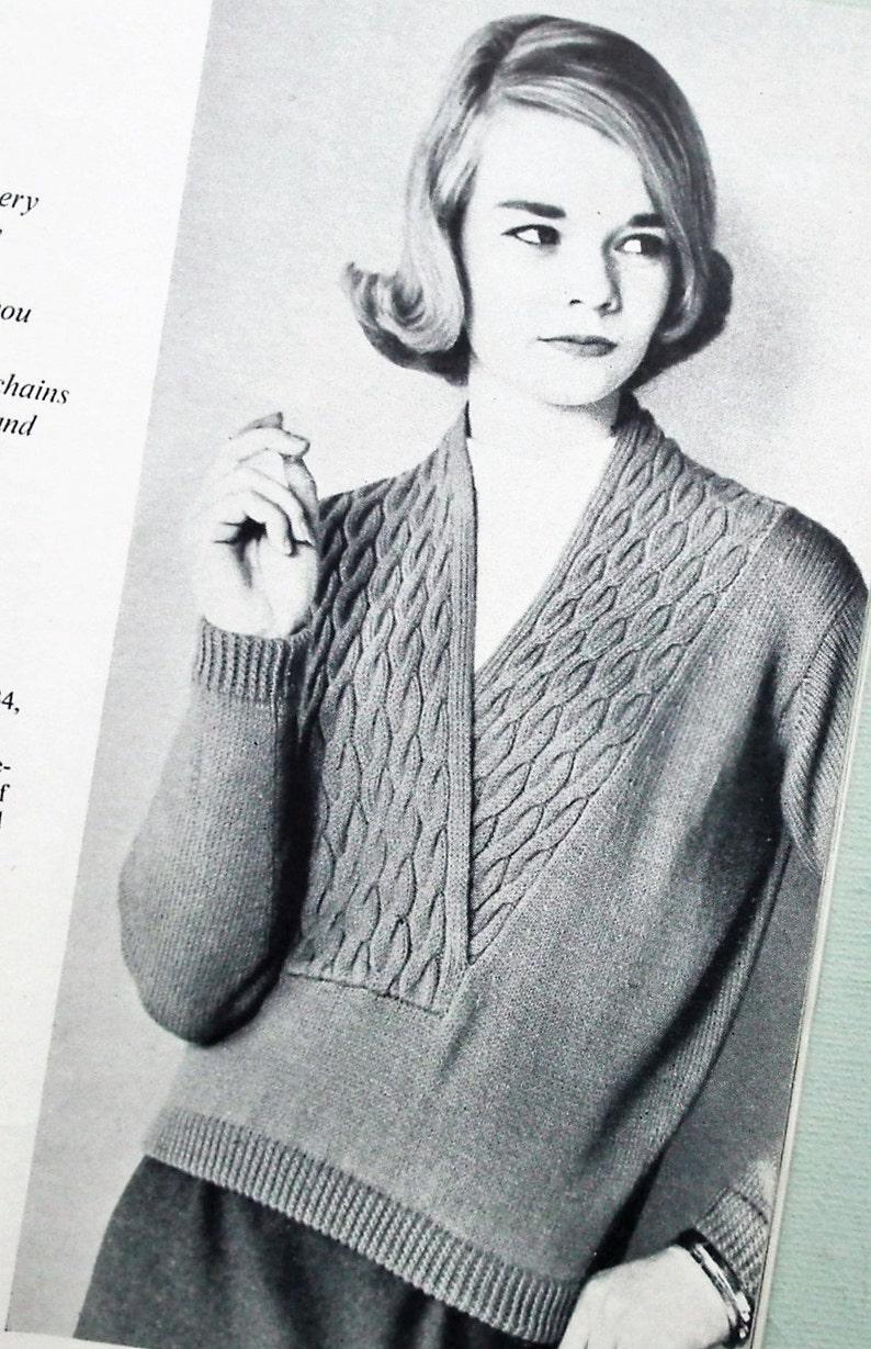 1bb1861bb457b Vogue Knitting Book No 55 1959 Vintage 1950s Knitting