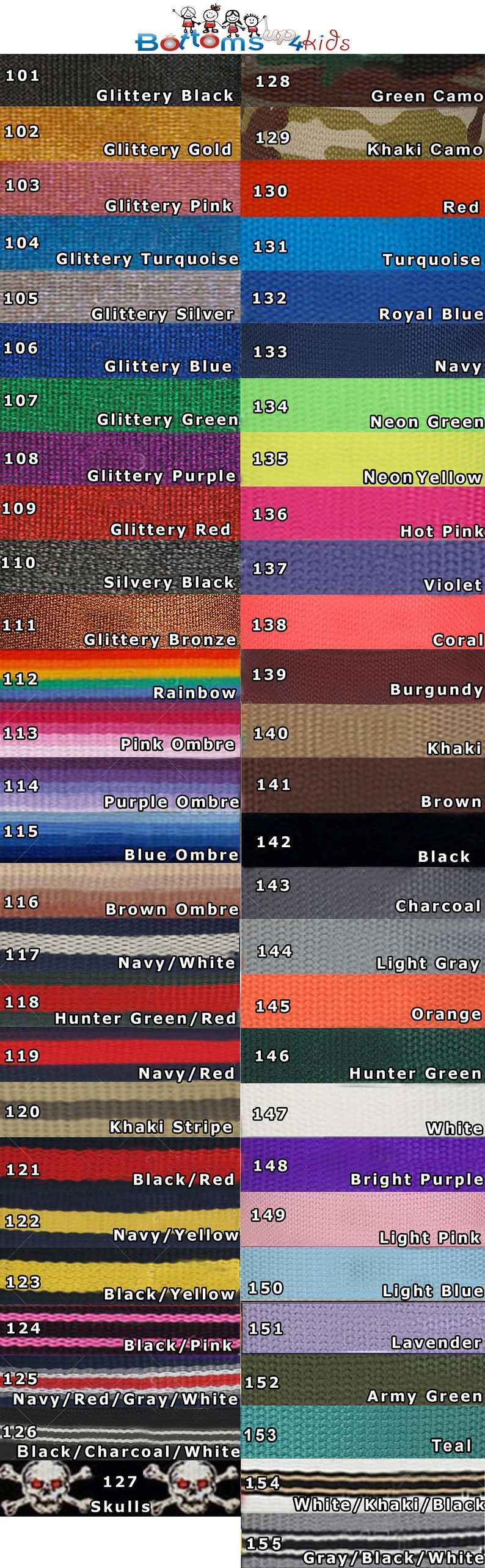 Additional belt straps for your interchangeable belt