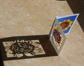 Summer Sunflower (Papercut Card)