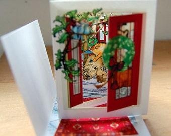 Christmas House (POP-up FoldOUT)