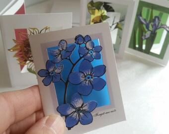 Papercut enclosure cards