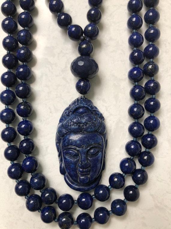 Lapis Lazuli Mala/Prayer Beads