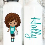 Personalized Volleyball Water Bottle Girls, Personalized Kids Water Bottle for Kids, Personalized Water Bottles Personalized, 20 oz Aluminum