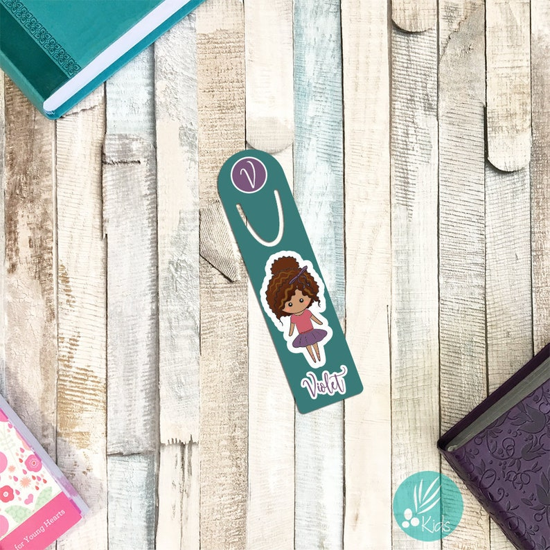 Personalized Bookmark for Kids Personalized Dance Gifts Dance image 0