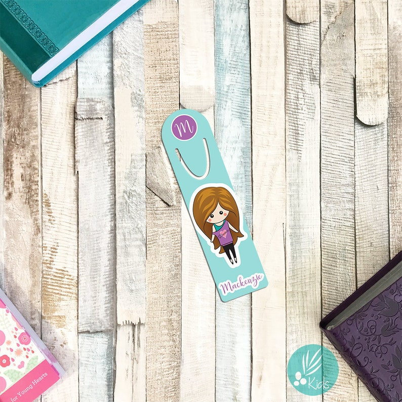 Personalized Bookmark for Kids Personalized Dance Gifts image 0