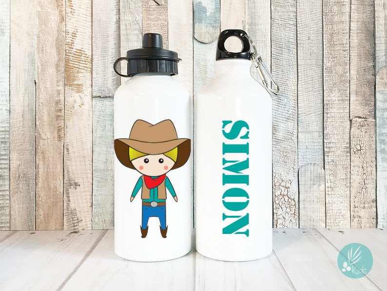 Children Waterbottles Personalized Name Waterbottle with Name image 0