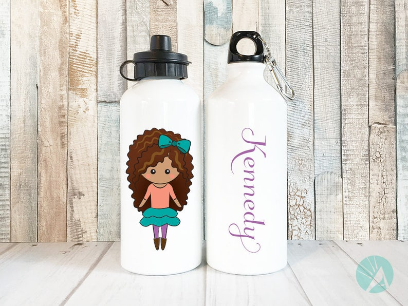 Personalised Water Bottle for Kids Water Cup Custom Name image 0