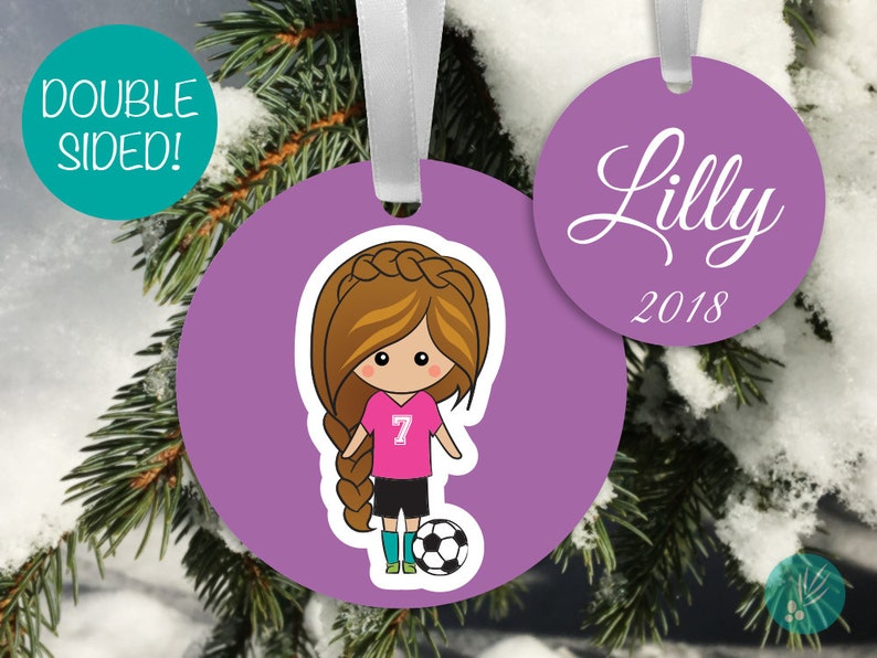 Personalized Christmas Ornament for Kids Personalized image 0