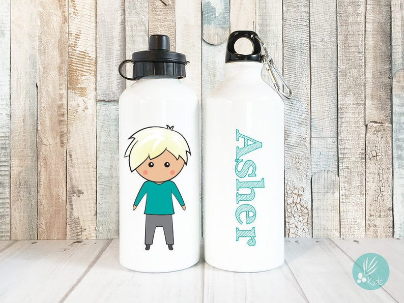 Personalized Water Bottle for School Water Bottle with Name image 0
