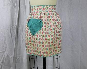 Vintage Apron, Retro Clothing, Apron, 1940s Apron
