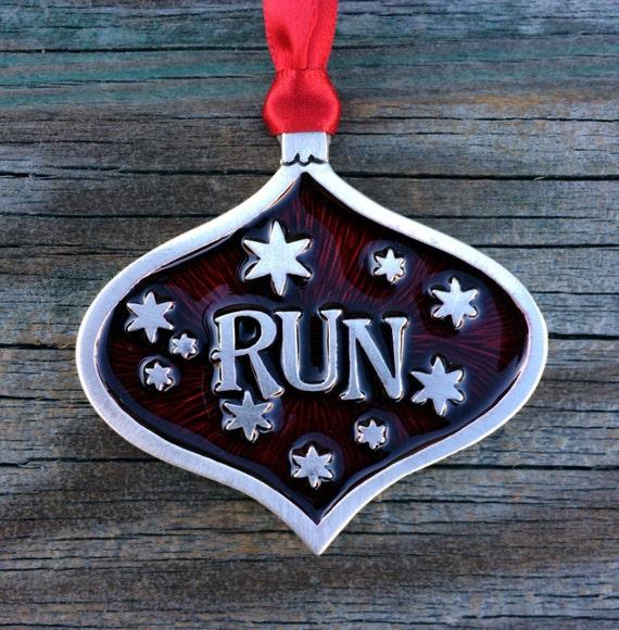 Runner Christmas Decoration Runner Gift Runner Ornament | Etsy