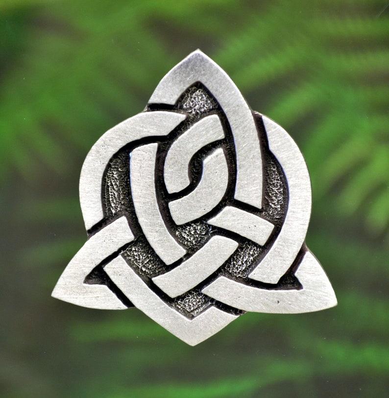 8d9c9f88b412 Celtic Sister Knot Pin Celtic Pin Celtic Jewelry