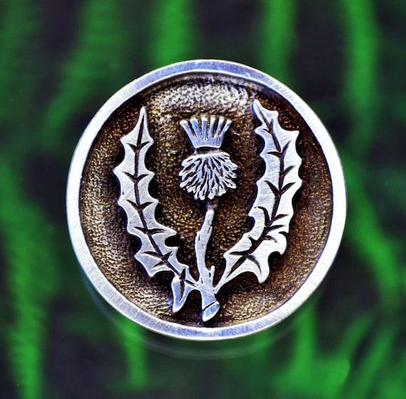 33587627c30a Broche chardon écossais Broche chardon écossais Emblème de   Etsy