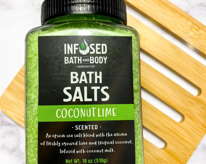 Coconut Lime Bath Salts