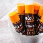 Orange Cream Lip Balm,  Lip Moisturizer, Moisturizing Lip Balm, Personalized, Lip Balm Favors, Beeswax Lip Balm, Chapstick * , Flavored Balm