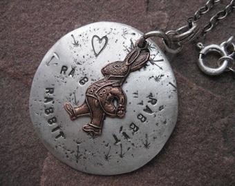 Rabbit, Rabbit, Rabbit Lucky Necklace