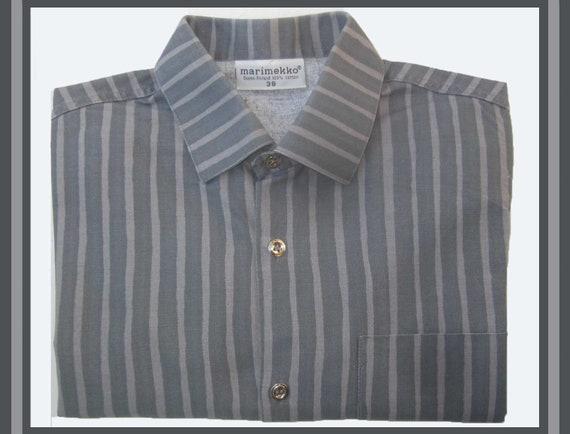 Its a CLASSIC, Marimekko Jokapoika Mod Shirt, Cool