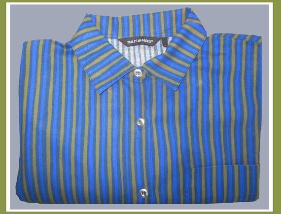 WATER Colors, Marimekko Jokapoika Striped Shirt, O