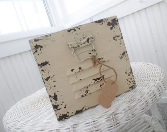 SALE * Vintage File Drawer * Farmhouse * Shabby Cottage * Planter