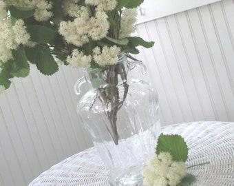 Vintage Olive Jar * Vase * Farmhouse Shabby Cottage Decor