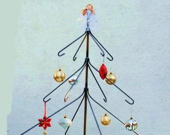 Outdoor Garden Ornamental Christmas Ornament tree - bottle tree style