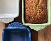 Handmade Ceramic Loaf Pan - Bread Pan