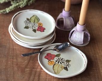 Small Ceramic Plates - Dessert Plates