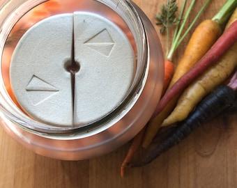 "Fermentation Weights 3.75"" diameter - Ceramic"