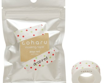 Coharu Masking Tape - choice of single or pack of 4.  Can use with Tepra label maker