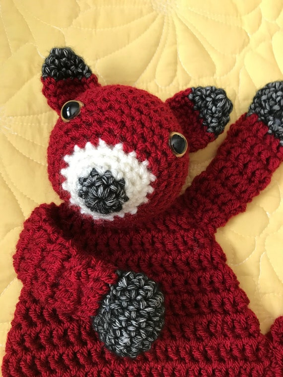 Little Red Fox Rag Doll Toy/Lovey