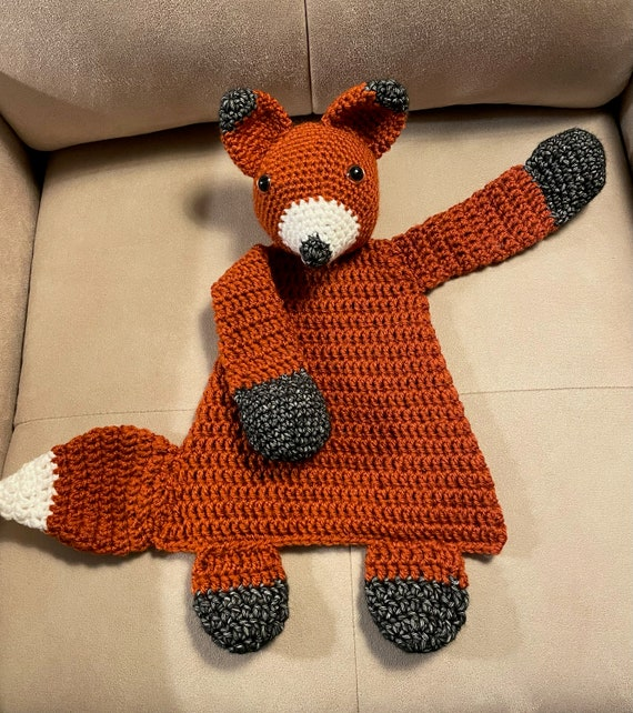 Red Large Fox Rag Doll—FREE SHIPPING