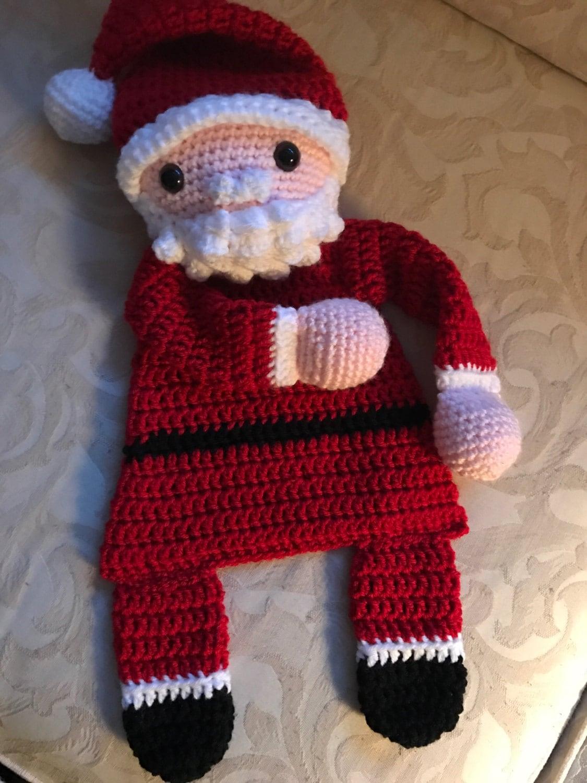 Amigurumi Doll Teddy Bear Security Blanket Crochet Pattern Knitted ... | 1500x1125