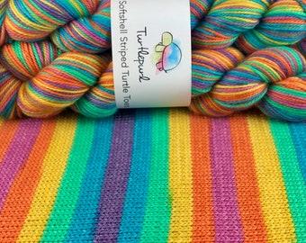 Joy - Hand Dyed Self Striping Sock Yarn