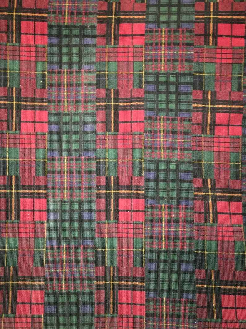 3 12 Yards 44 wide  Vtg 80s thin wale Cotton corduroy fabric