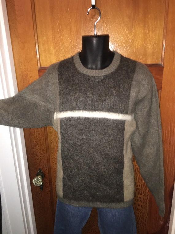 Vtg 50s / 60s mohair pullover sweater by Kandahar