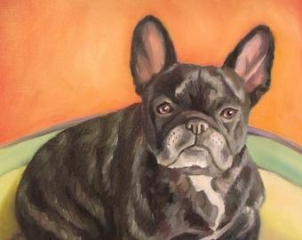 CUSTOM PET PORTRAIT  Sale  Full body 11 x 14 in oil on canvas