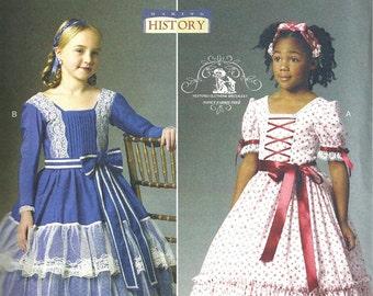 MODELLO di COSTUME storico   vestiti   Addy - Marie Grace - Cecile - Era di  guerra civile - anni 1860   bambino 2 a 5   ragazza 6 a 8 03c9502cf95